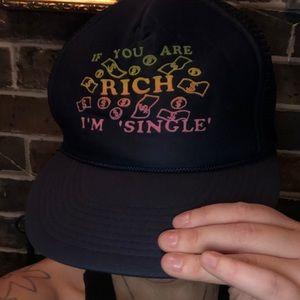 Funny vintage trucker hat!
